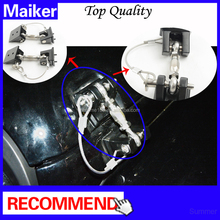 Maiker Engine Hood Lock for jeep wrangler jk car hood lock for wrangler jk 07+