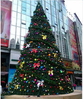 artificial tower tree christmas home decoration china christmas tree metal outdoor big tree