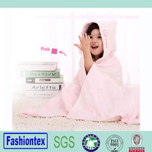 100% cotton muslin hooded towel for babies soft toddler hooded towels