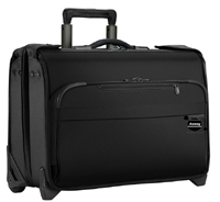 eco friendly hot selling high quality customize baseline carry on wheeled garment bag black84
