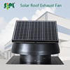 30W Solar panel power 14 inch roof mounted air cool vent fan factory ventilation exhaust fan