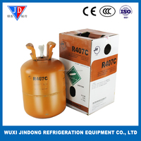 Purity 99.99% refrigerant gas JH R407C, refrigerant of air conditioner new environmental protection refrigerant