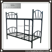 heavy duty steel tube metal up down bunk bed for sale