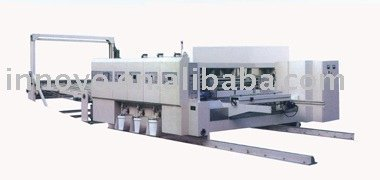 corrugated carton printing slotter machine