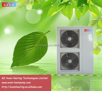 Air source dc inverter heat pump hot water heater and house heating