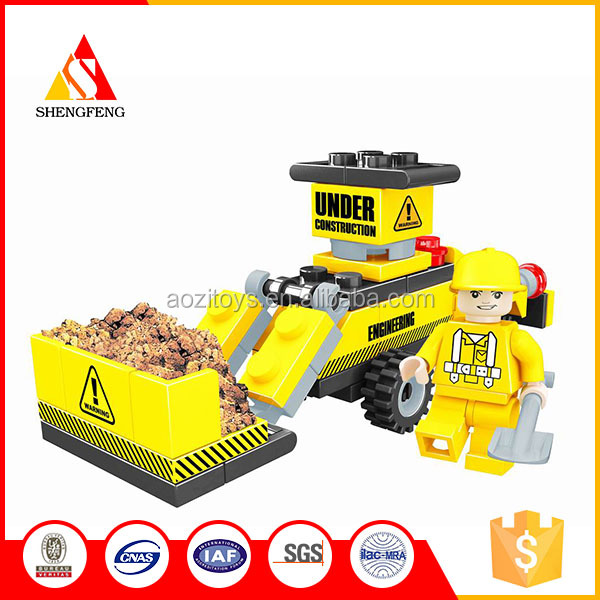Wholesale funny bricks truck mini excavator for construction