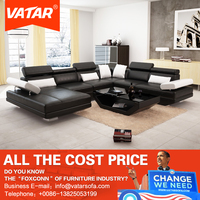VATAR home furniture soft comfortable low price living room sofa set