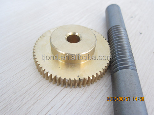 Top Sale worm gear factory of C45 steel,brass,stainless steel