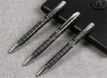 Black refill Metal ballpoint Pen