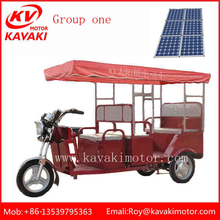 New Fashion Unique Solar Electric Tricycle