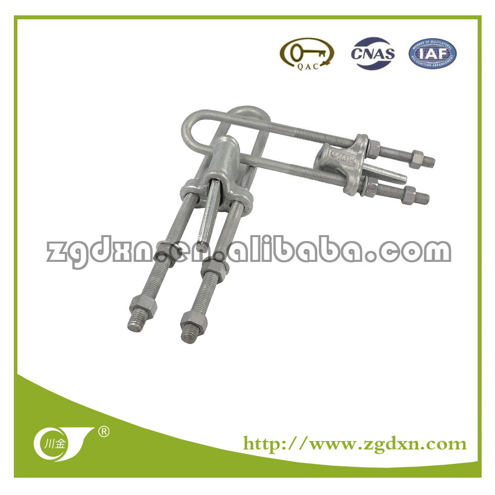 Guy Wire Fitting UT wedge clamp (Adjustable)