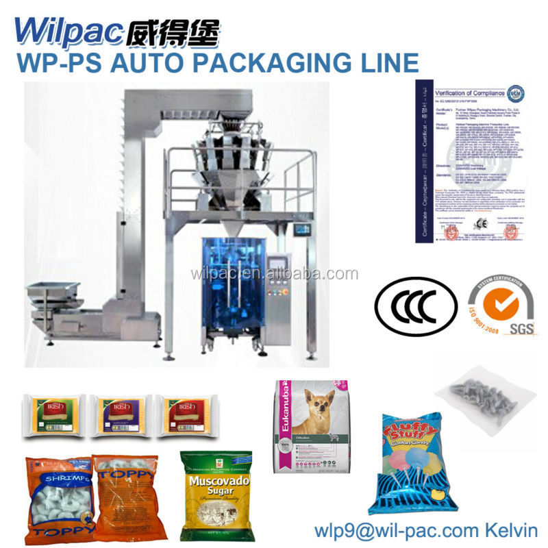 composite plastic membrane chicken wings packing machine