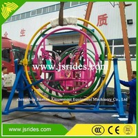 Amusement rides 2/4/6 seats spin human gyroscope mechanical human gyroscope