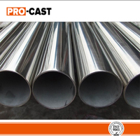 2 inch large diameter welded stainless steel 316 pipe