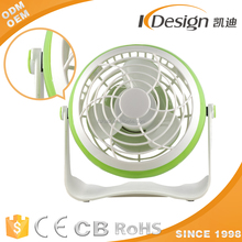 Bathroom Product 2 Inch Usb Mini Desk Fan For Home Use
