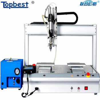 desktop automatic screw machine with Electricity and pneumatic screwdriver to tighten screw