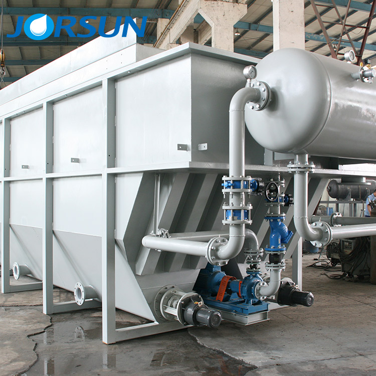 DAF system water treatment of Jorsun