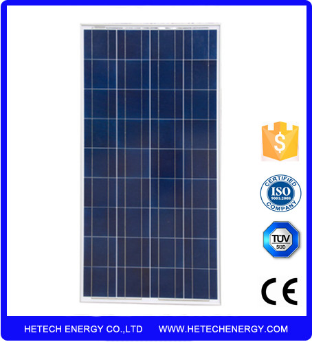 Low cost factory direct TUV CE approved placas fotovoltaicas panel solares 145 watts