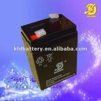 Maintenance free sealed lead acid 6v4ah battery for table lamp