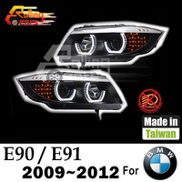 HALO PROJECTOR led car light assembly for BMW E90 E91 3 SERIES SEDAN 316d 318i 320d 320i 325i 325xi 328i 330d 330xi 335d 335i