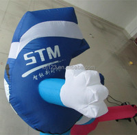 Advertising inflatable cartoon model for China Construction Bank