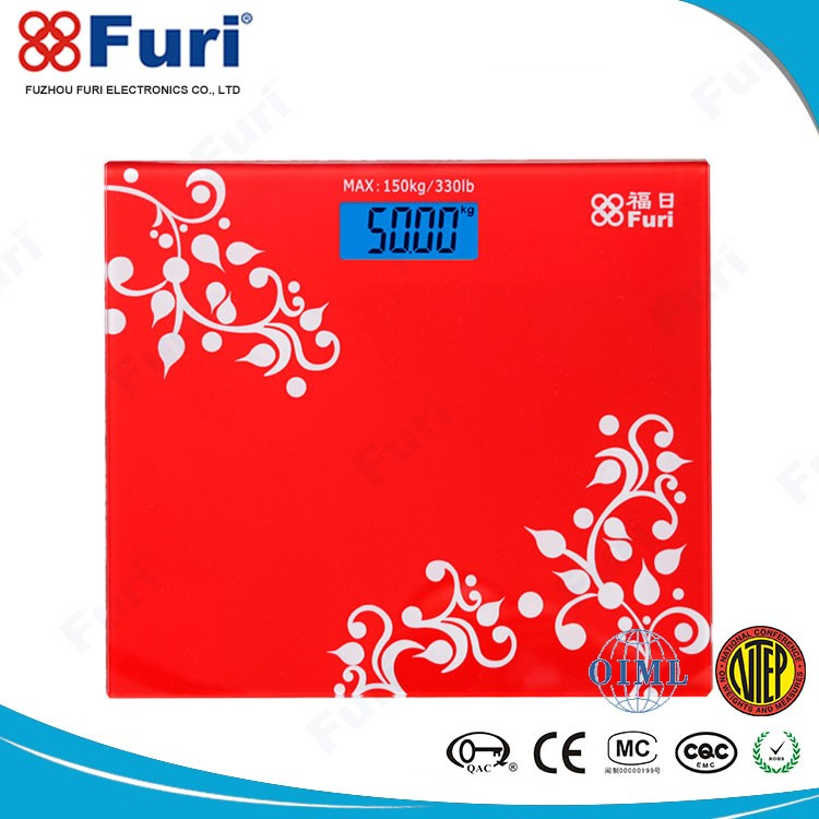 FURI Precision 4 Sensor Technology Robust Design Health Body Weighing Scale