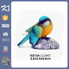Funny garden resin bird figurine miniature garden