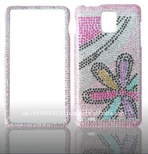 Bling case for Samsung Infuse 4G / i997 brand new Crystal Bling Snap on Faceplate Cover Case