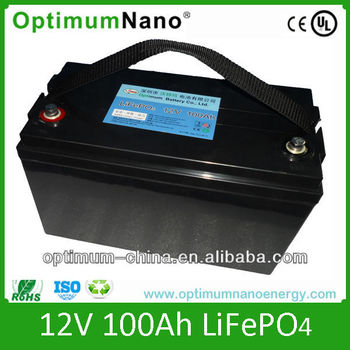 12v 100ah deep cycle LiFePO4 battery