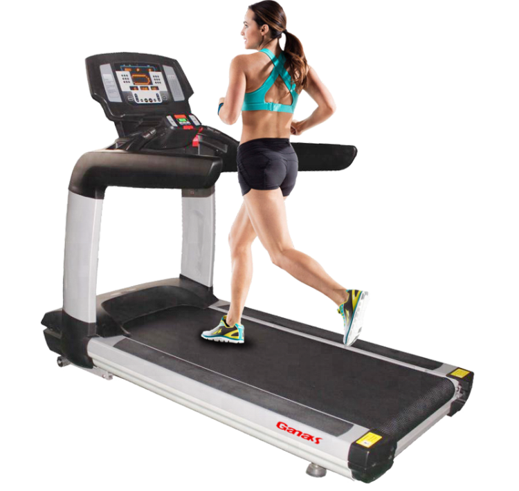 New Fashion Gym Club Commercial new concept treadmill Machine Gym <strong>Equipment</strong> KY-760 fitness treadmill with big screen