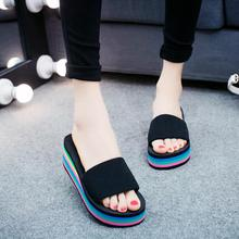 LM3953Q summer women slippers fashion big size household slippers outdoor women sandals