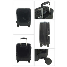 Hard Shell With Brake Wheels Travel ABS Rolling Trolley