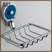 Modern Direct Marketing Factory Zinc Alloy Polished Chrome Bathroom Fixtures And Accessories Wall Mounted Wire Soap Holder