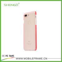 High Quality Fashion Transparent Strong TPU Shockproof 2 in 1 Sport Phone Case for iPhone 7