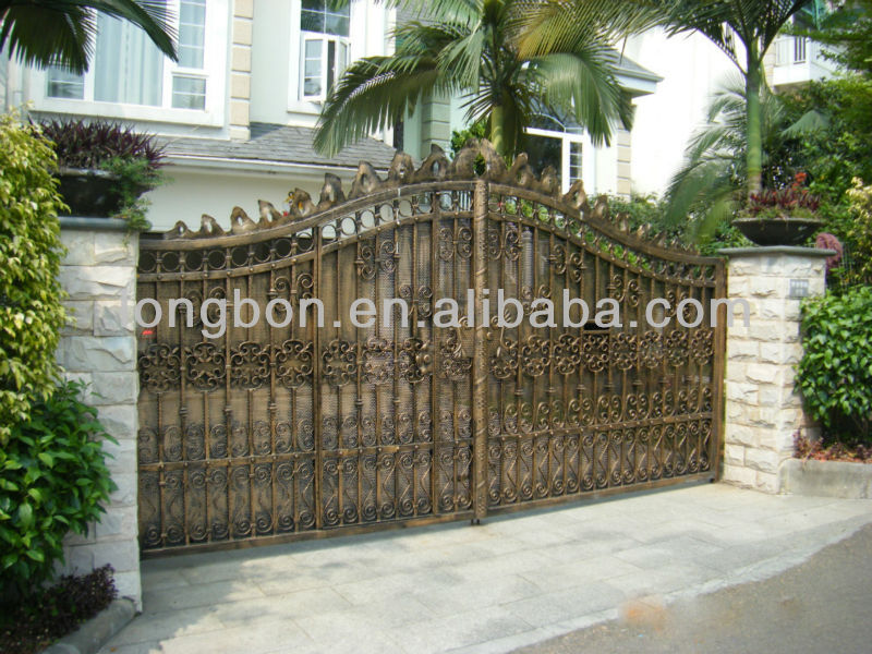 2014 Top-selling garden iron gates models