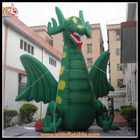 hot sell ! inflatable dinosaur , inflatable dinosaur costume , inflatable green dinosaur for sale made in China