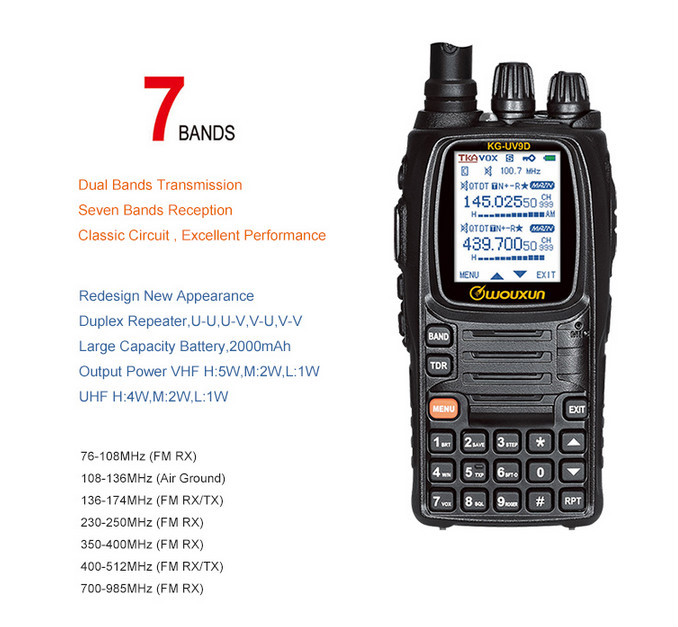 Personal two way radios