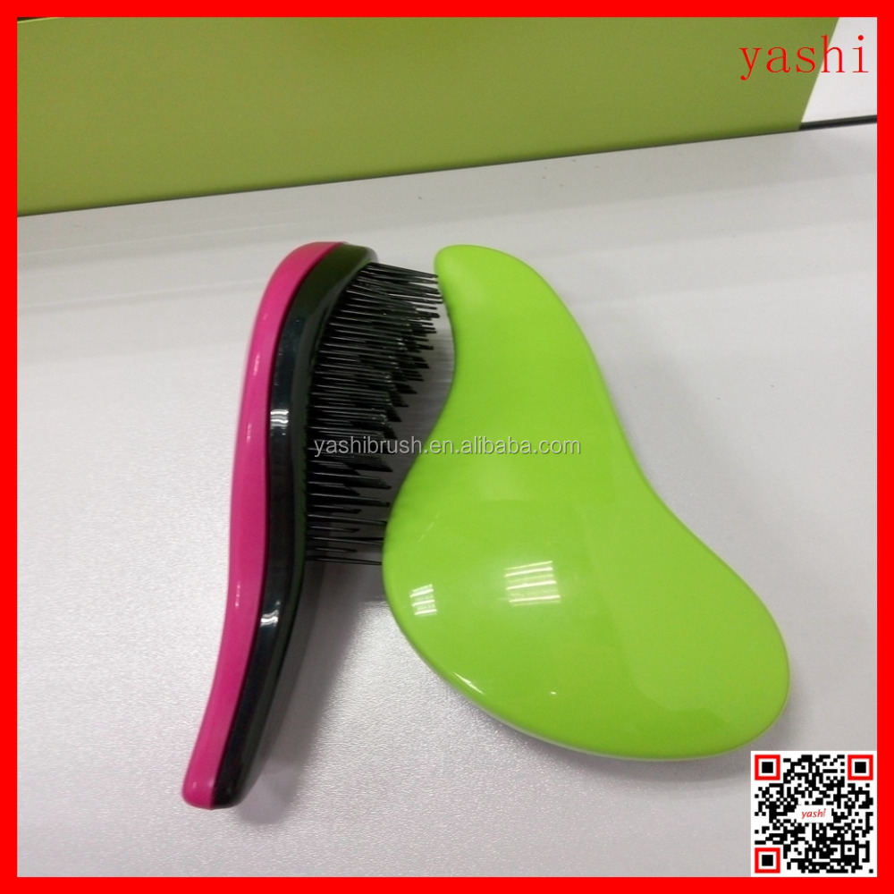 ALIBABA Salon Styling Magic Detangling Handle Tangle Hairbrush