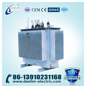 3 phase 11kv/400v Distribution Power Transformer with Iron Core