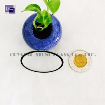 0.7MM ultra thin light cover glass with silk screen printing glass