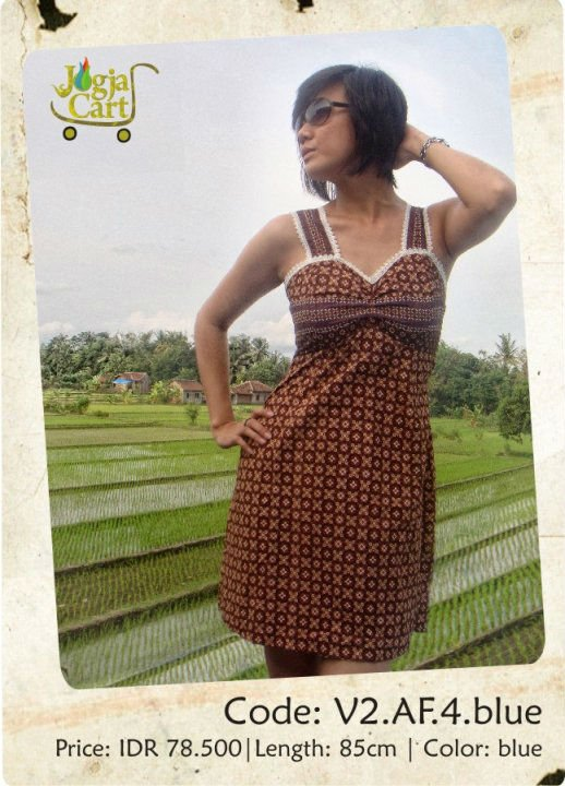 Casual Batik dress 4