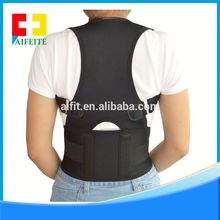 Wholesale healthy back supporter 3D knitting back support belt for heavy lifting waist bandage support