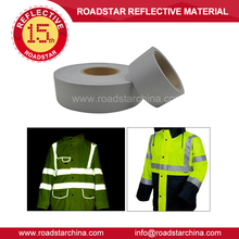 TC backing high visibility reflective fabric for overalls,vest,work uniform