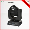 Skillful Manufacture Gothylight beam 230W 7R moving head sharpy dj light/Stage Lighting