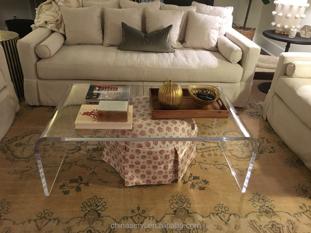 high quality custom lucite acrylic end table