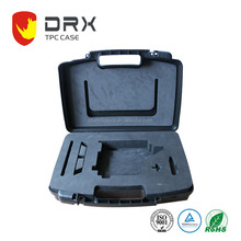 OEM Manufacturer Plastic Hard Carrying Tool Case With EVA Foam , 430*315*100mm