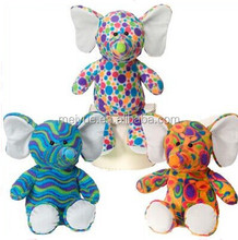 Hot Sell Colourful Baby Elephant Stuffed Toy