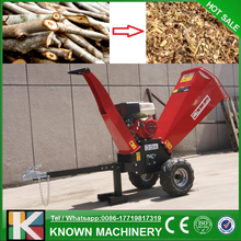 Made in China with CE certification mobile mini wood chipper / wood chipper price