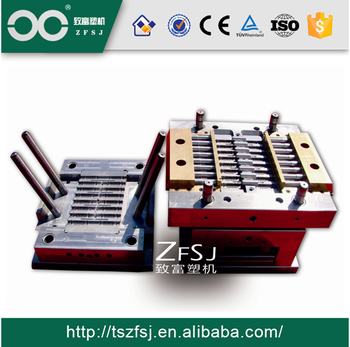 plastic round dripper injection mould