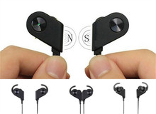 2017 high quality V8 magnetic bluetooth v4.1 wireless sports headphones